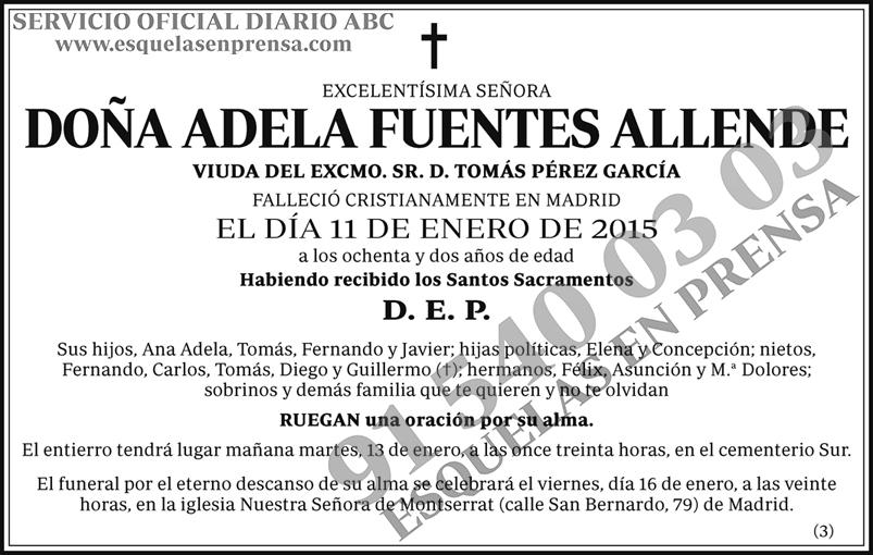Adela Fuentes Allende